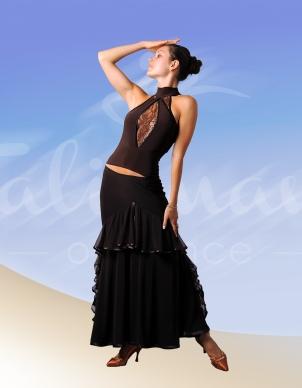 Talisman model 149 ballroom practise blouse