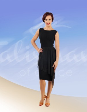 a8ade9fe09cf Roan dancewear   Talisman   latin dress   model 691 black