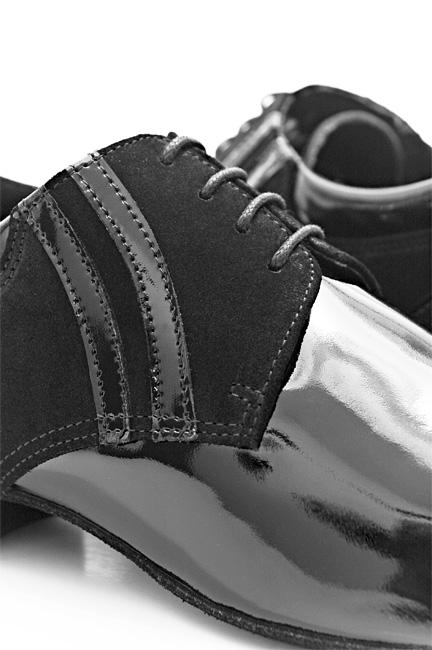 Portdance PD015 Premium black patent/suede