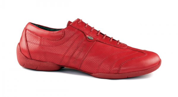 Portdance PD Pietro Street red leather