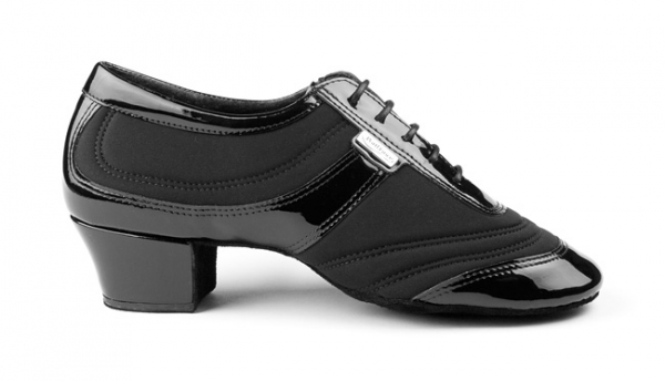 Portdance PD013 pro premium black lycra/patent
