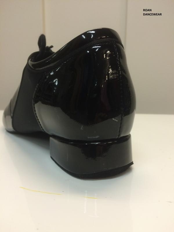 Ray Rose 323 Tailwind | Black Patent/Lycra