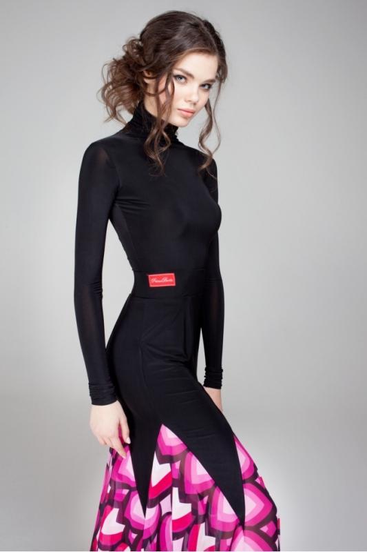 Primabella model Maze ballroom skirt