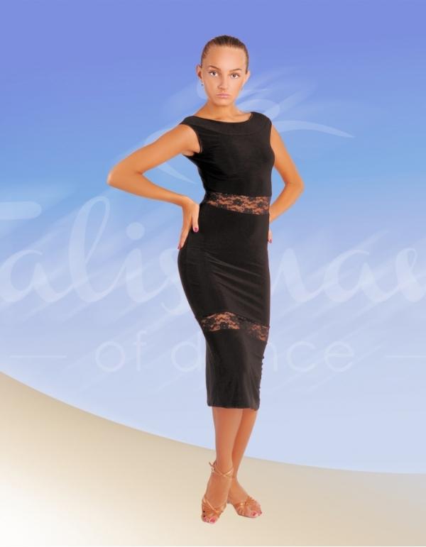 Talisman model 241 latin dress black