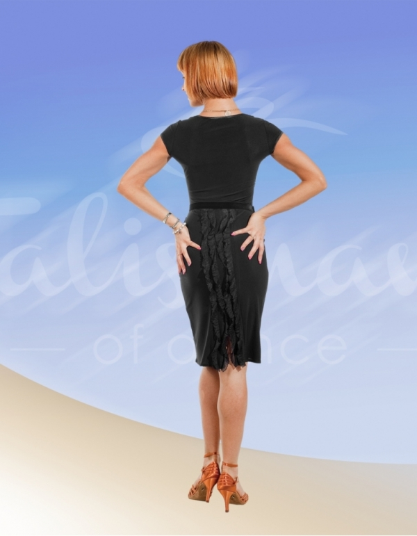 Talisman model 487 latin dress black