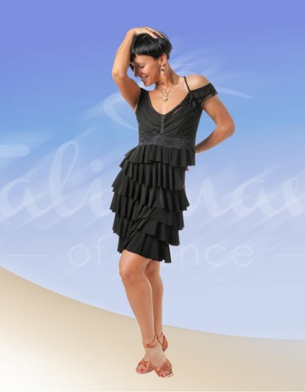 Talisman model 419 latin dress black
