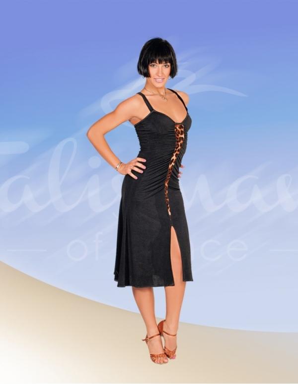 Talisman model 329 latin dress black