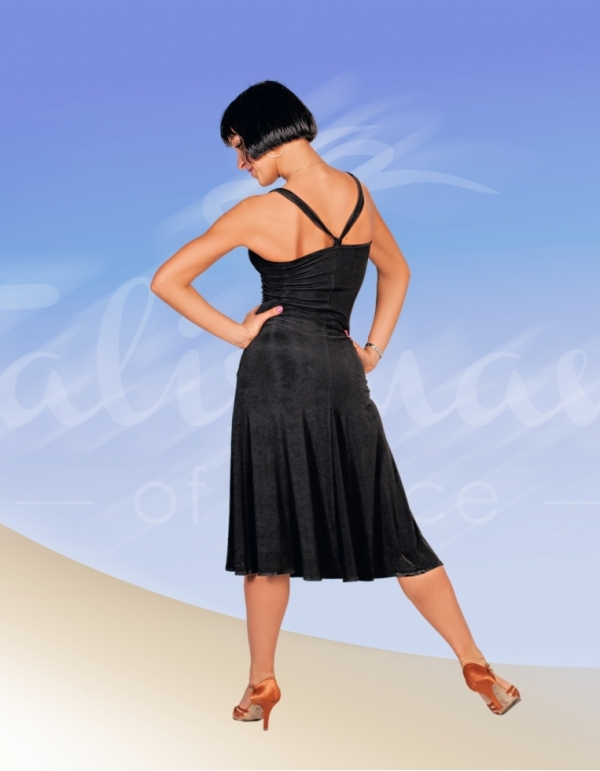 Talisman model 329 latin dress black