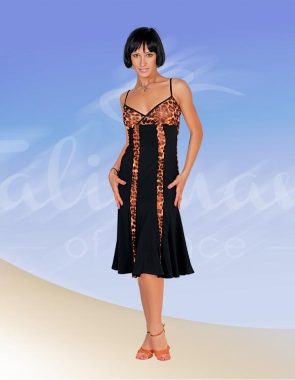 Talisman model 326 latin dress black