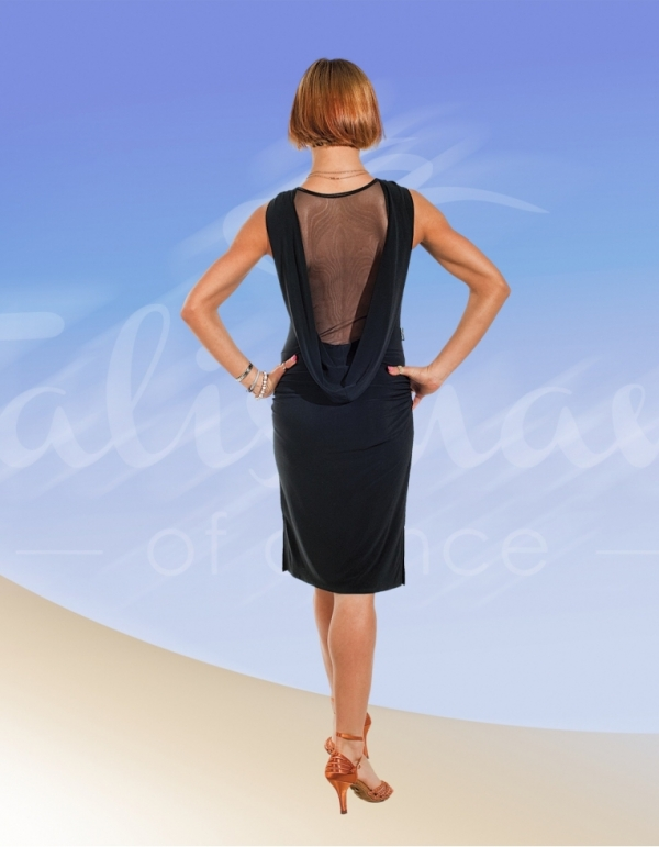 Talisman model 486 latin dress black