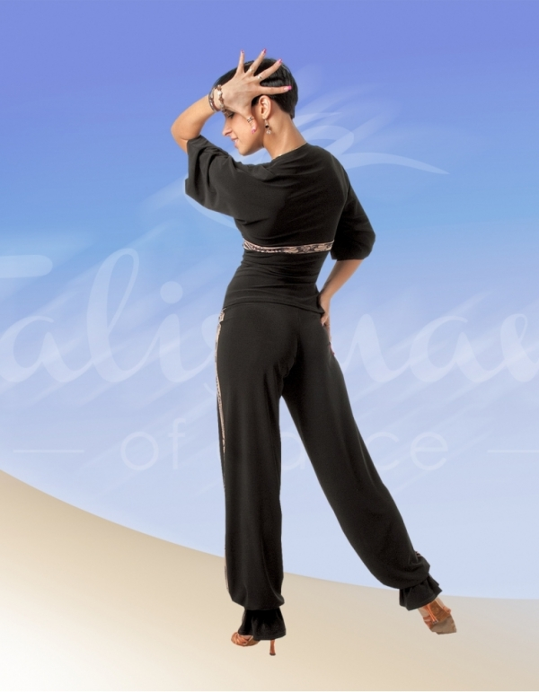 Talisman model 390 trousers for practice black