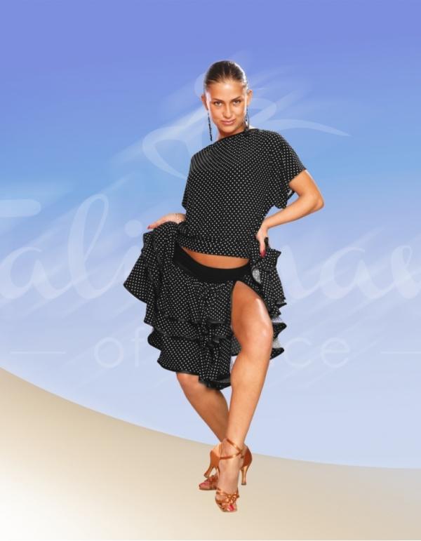 Talisman model 154 blouse for practice black