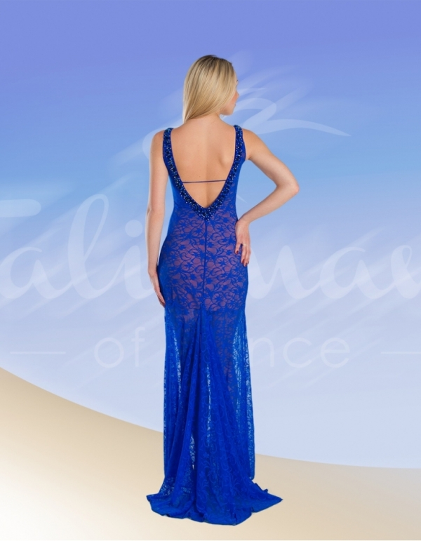 Talisman model 668 evening dress