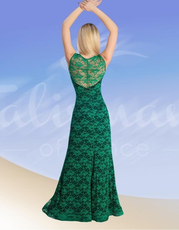 Talisman model 674/1 evening dress izumrud