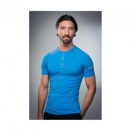 Lalafarjan mens shirt blue