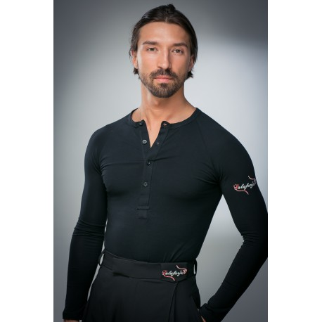 Lalafarjan mens shirt black