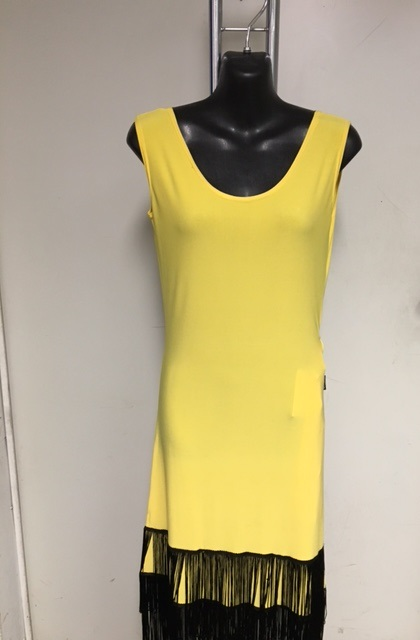 Talisman model 172 latin dress yellow