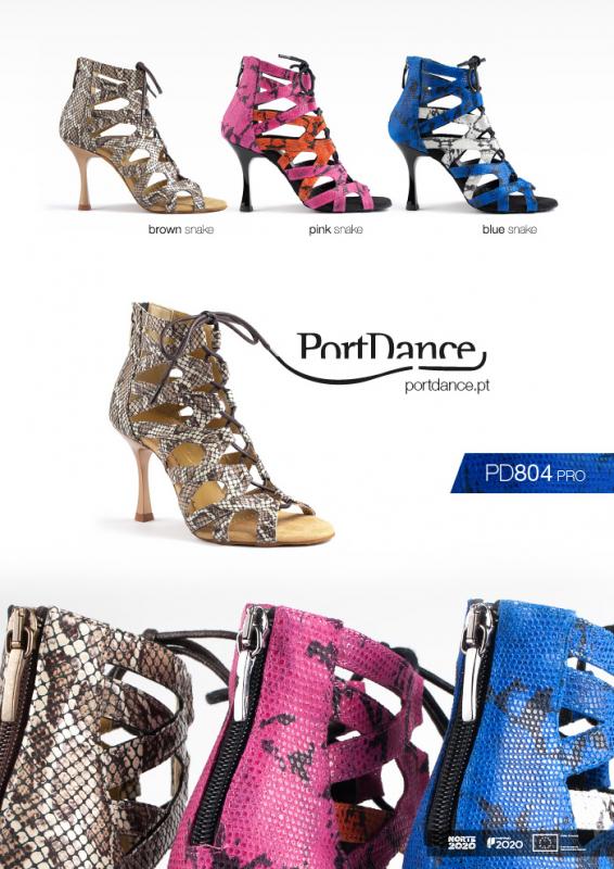 Portdance PD804 Pro Premium blue snake