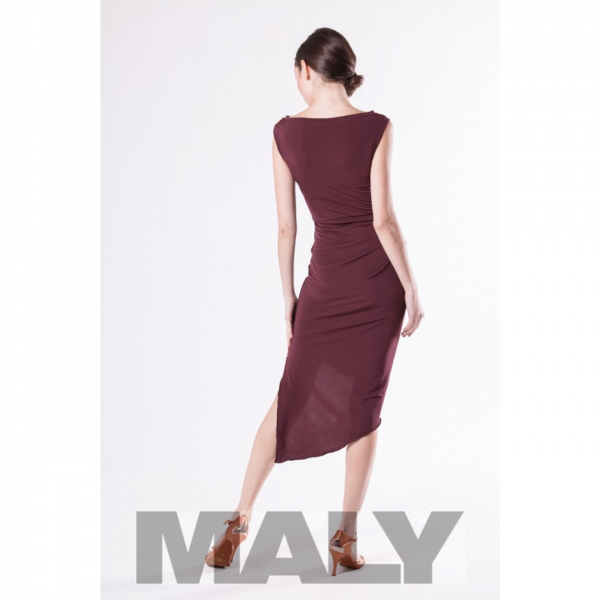 Maly model MF171601-11900 dress bordeaux