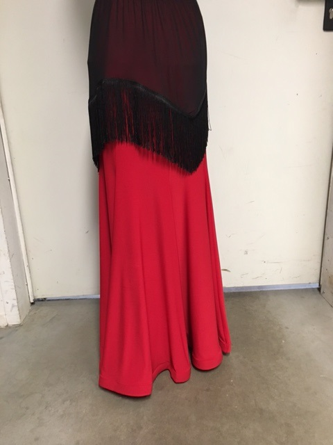 Talisman model 597 standard skirt red