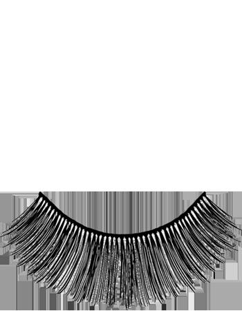 Kryolan eyelashes upper stage B1