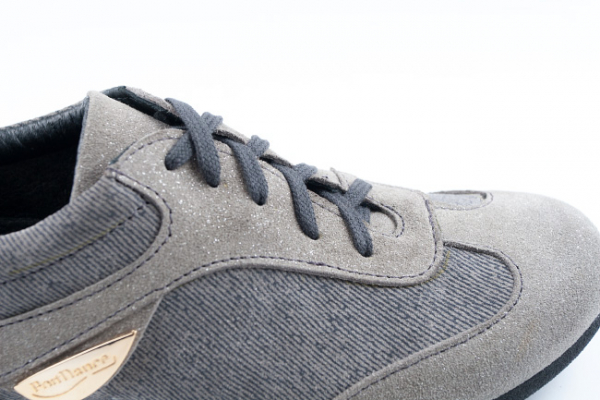 Portdance PD07 dance sneaker Grey Denim