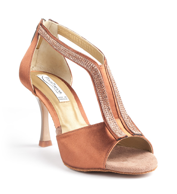 Portdance PD806 Pro Premium bronze satin 7 cm heel