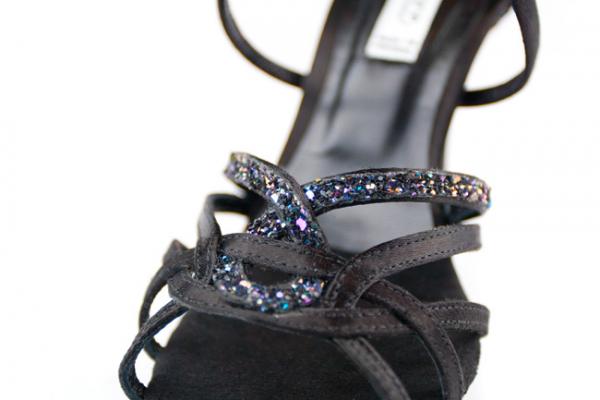 Portdance PD800 Pro Premium black satin 7,5 cm heel