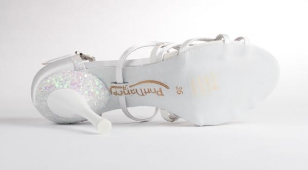 Portdance PD800 Pro Premium white satin 7,5 cm heel