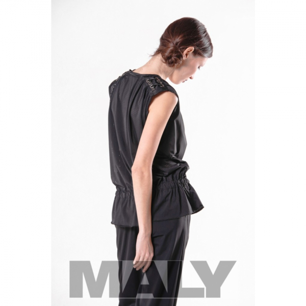 Maly Store MF SP103 14300 noble, elasticated shirt black