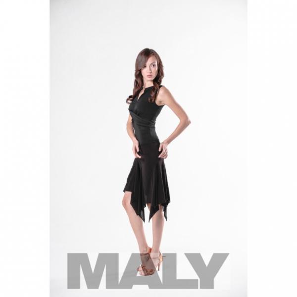 Maly Store MF151104-5900 Shirt cross look black