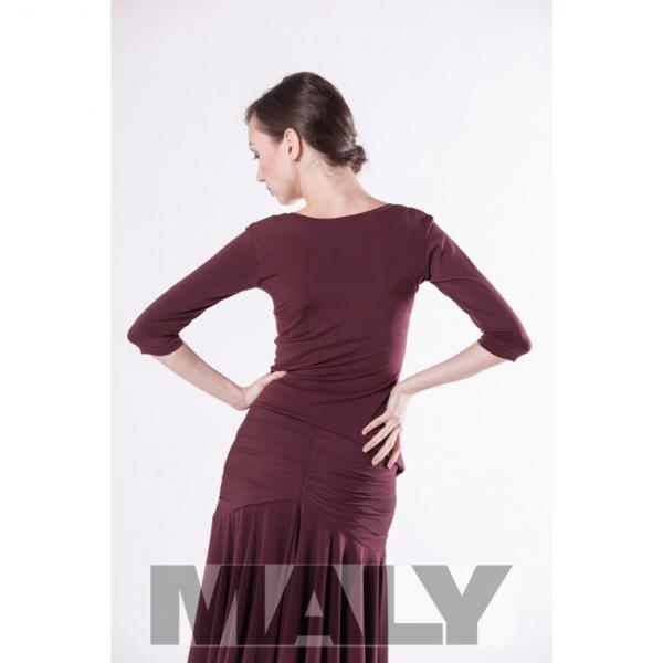 Maly Store MF151105 4900 Shirt Base bordeaux