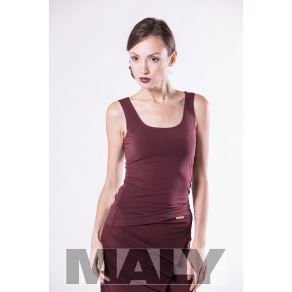 Maly Store MF151106-3400 Top bordeaux