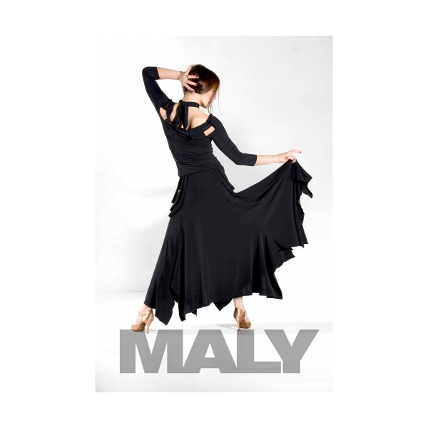 Malydesign MF121101 Ladies shirt black