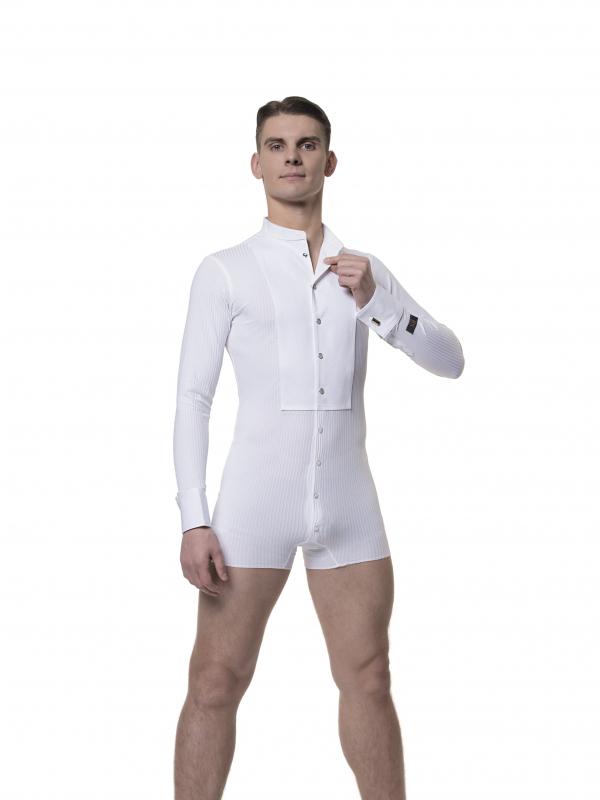 RS Atelier Nero easy button stretch shirt white