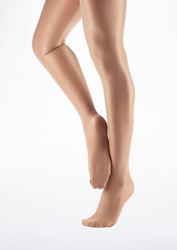 Capezio 1808 ultra shimmery tights suntan