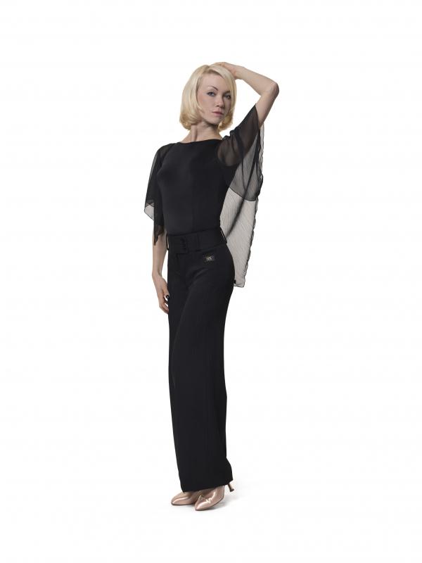 RS Atelier Daria Trendy black stripe black woman trouser