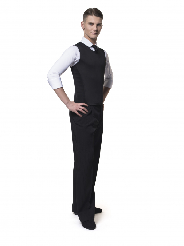 RS Atelier Dmitry men cool waistcoat black