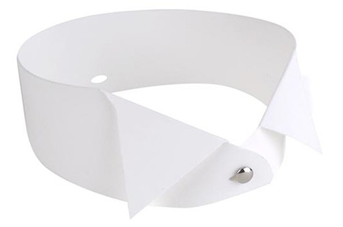 DSI-London 4440 professional shaped plastic collar 4-4,5cm curved