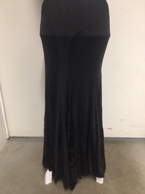 NY17307 modern skirt with velvet